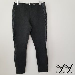 J. Crew Gigi Black Pant Fitted Stretch Cropped